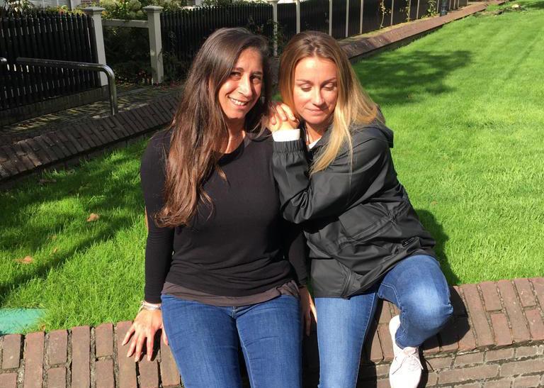 Karine et Louise
